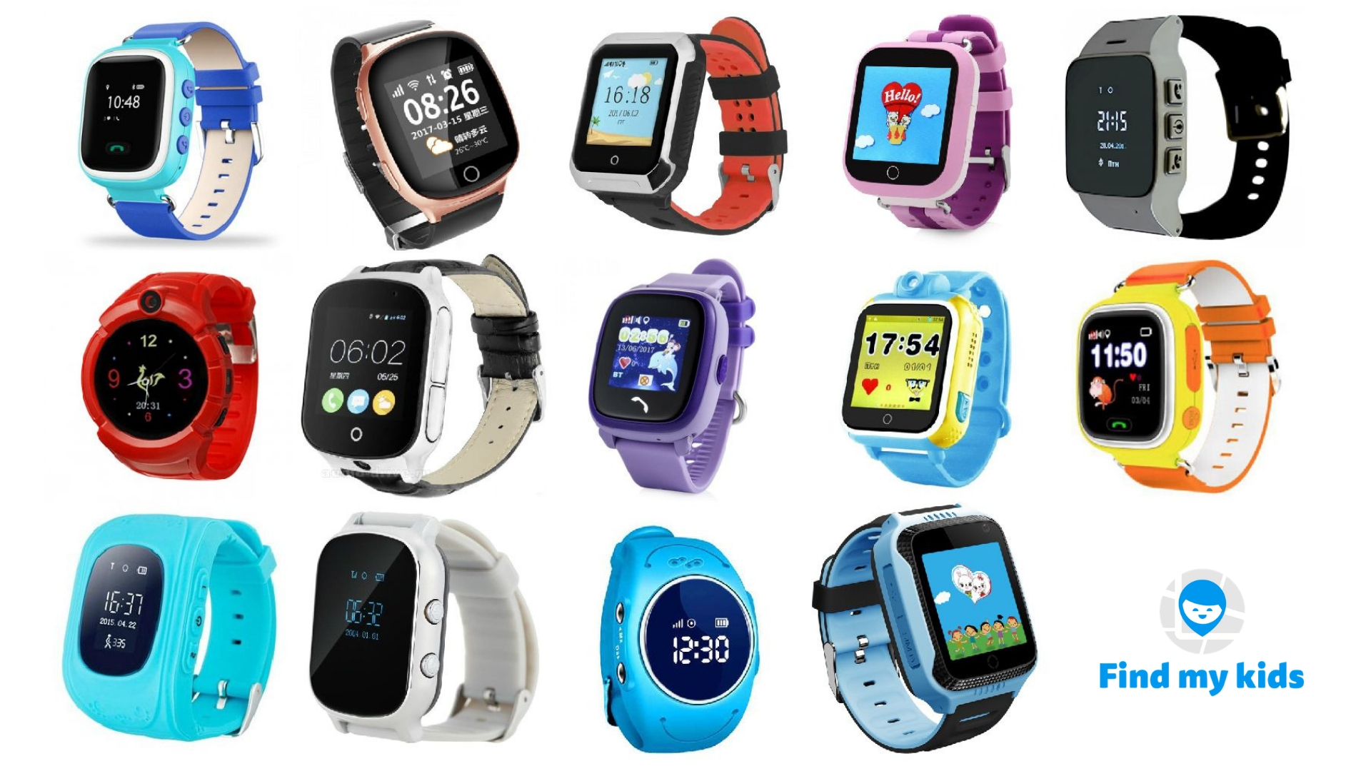 Which GPS Watches Work with Find My Kids App | FindMyKids Blog