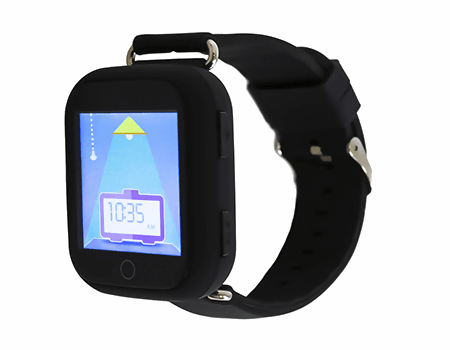 touch screen gps watch